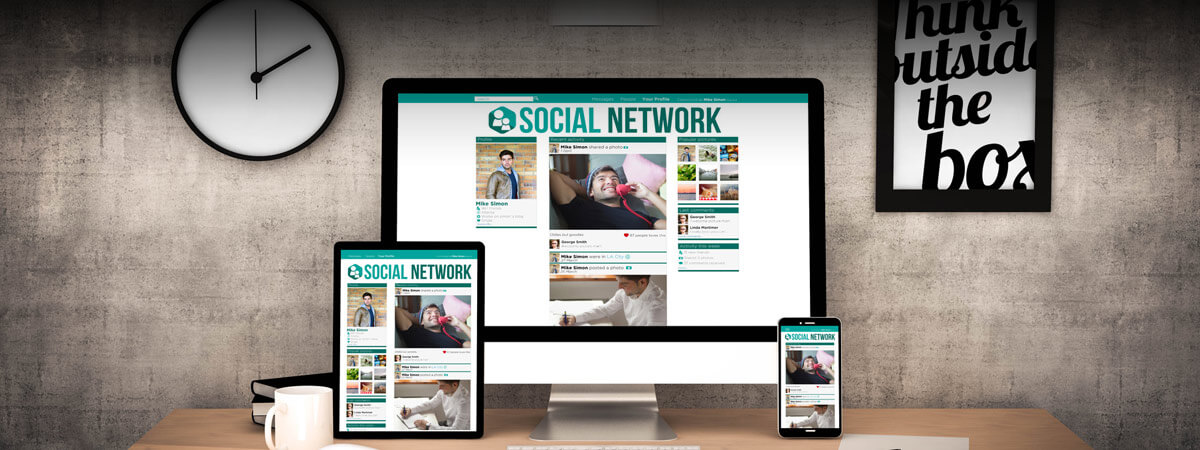 Social Network Workspace